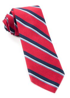 918 Stripe Ties - Red | Ties, Bow Ties, and Pocket Squares | The Tie Bar