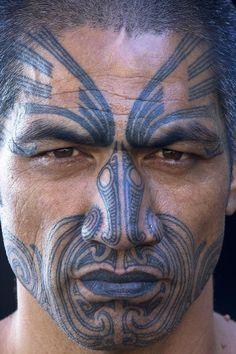 New Zealand Maori by Art Wolfe