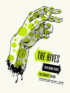 The Hives // venue poster