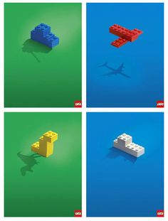 el poder de la imaginación de Lego