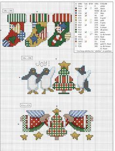 Schema punto croce Bordini 2f