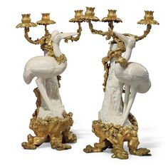 gilt chinoiserie blanc de chine candelabra - Google Search