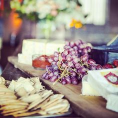 Cheese station! Delicious!