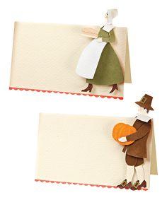 Meri Meri Pilgrim Place Card - Set of Ten