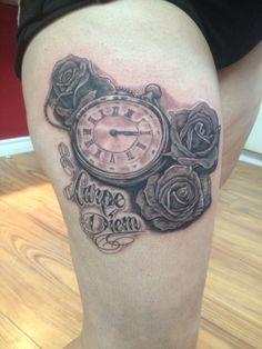 Pocket watch Pocket Watch, Tattoos, Pocket Watches, Tatuajes, Tattoo, Japanese Tattoos, Tattoo Illustration, A Tattoo, Time Tattoos