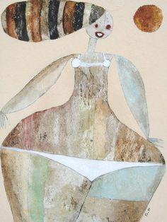 Bikini Girl by ScottBergey on Etsy