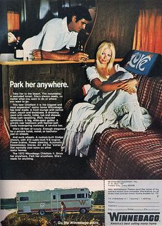 Wants To Show You Where To Go Vintage Print Ad 1969 Winnebago