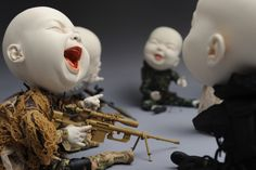 Bizarre Sculptures by Johnson Tsang