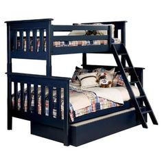 amazon bunk beds twin over full wood Bmw M9, Bed In A Bag, Bunk Beds, Toddler Bed, Twin, Amazon, Wood, Furniture, Home Decor