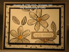 Garden in Bloom, Happy Happenings, Timeless Elegance dsp, Washi Label punch, & more - all from Stampin' Up!
