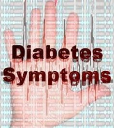 Recognizing Early Symptoms Diabetes