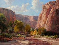 October in the Canyon by Kathryn Stats - Greenhouse Gallery of Fine Art