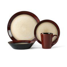Pfaltzgraff® Everyday Aria Red 16 Piece Dinnerware Set