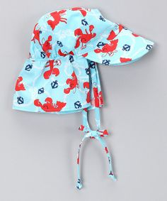 fa02ccd0c90 Flap Happy Happy Lobster Side-Tie Desert Hat - Infant