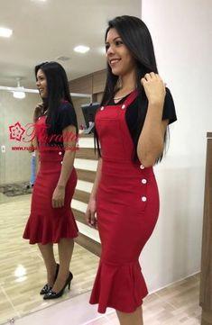 Resultado de imagen para floratta modas Fashion Wear, Modest Fashion, Girl Fashion, Fashion Dresses, Womens Fashion, The Dress, Dress Skirt, Bodycon Dress, Modest Outfits