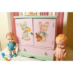 Vintage nursery items