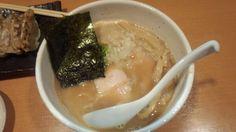 らーめん銀杏@亀有 鶏SOBA醤油700円+餃子セット350円