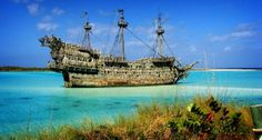 Now that is an old pirate ship!