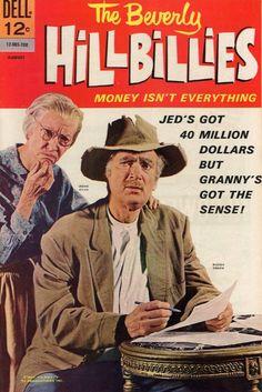 "The Beverly Hillbillies (1962-71, CBS) Irene Ryan as 'Granny' & Buddy Ebsen as 'Jed Clampett"" — 1967 comic book"