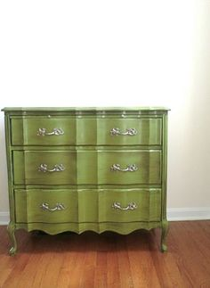 The Trois Chic Dresser Vintage by decoratinginsanity on Etsy, $295.00
