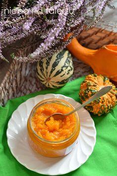 Łatwa konfitura z dyni. Dżem dyniowy z pomarańczą i wanilią