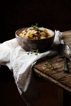 Still Life ~ Risotto by Raquel Carmona