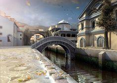 Кеттари, с его мозаичной плиткой и неповторимыми мостами, соединяющими все кусочки города воедино. https://vk.com/photo-3840_167103217