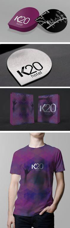 Branding para el hotel K20 en Ciudad de México