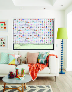 Party Animals Boogie blackout roller blind