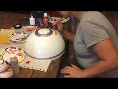 DIY Making of BB-8 costume - YouTube
