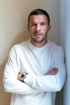 Lukas Podolski - Photographer Jesper Palermo - People