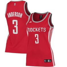 Ryan Anderson Houston Rockets adidas Women's Replica Jersey - Red - $48.99