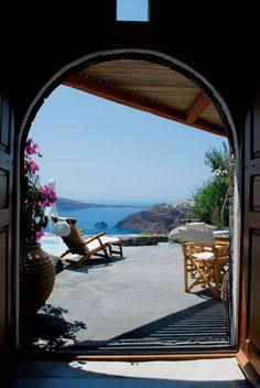 Romantic hideaway in Santorini - greece