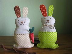 Zajačik s mrkvičkou- dekorácia