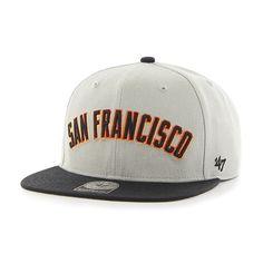 76f0fe11314 San Francisco Giants Script Side Two Tone Captain Gray 47 Brand Adjustable  Hat