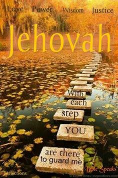 Jehovah's 4 main attributes - Love, Justice, Wisdom & Power