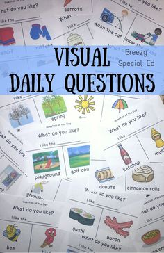 Love these to give my students a way to express themselves every morning! Visuals for great for my students.