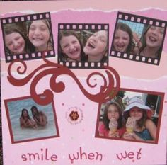 filmstrip - for the pics of E's mood swings.  Need to figure out measurements and reprint pics. They're too big.