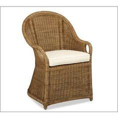 rattan chair pottery barn - Google Search