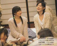 Watanabe Mayu / Mayuyu (AKB48) and Matsui Jurina (AKB48/SKE48)