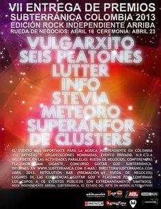 Premios Subterránica Colombia 2013
