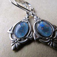 black heart earrings 1920s - Google Search