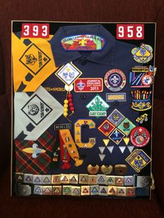 Cub Scout Shadow Box   cb