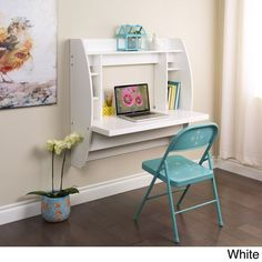 Floating Desk with Storage - Overstock Shopping - Great Deals on Prepac Desks [Promotional Pin]