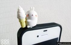 Large bunny ice cream iphone