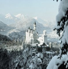 My snow castle, to go with my frosted black heart.