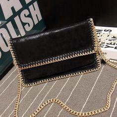 Women bag fashion 2016 Scrub luxury Chain handbag famous designer brand bags women leather handbags women messenger bags vintage