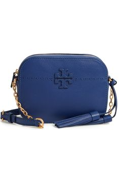b71f710f9b12 Tory Burch McGraw Leather Camera Bag