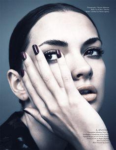 Schön Magazine by Desiree Mattsson #makeup #beauty #fashion #editorial