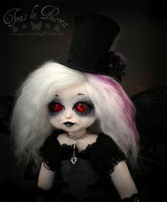Goth art doll.